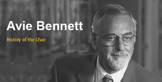 The Avie Bennett  Historica Chair in Canadian History